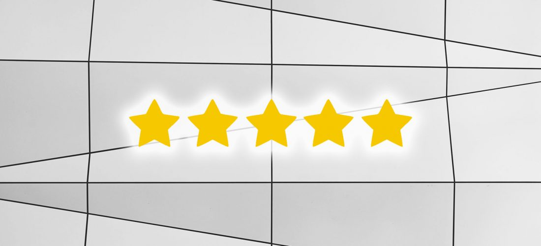 calificación de vendedor en Amazon